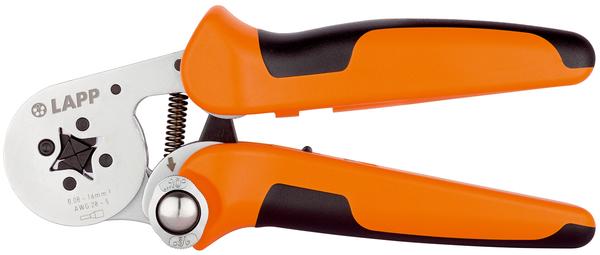 Crimping pliers end sleeves PEW 8,186