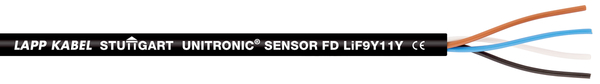 UNITRONIC SENSOR FD Li9Y11Y 4 X 0,34